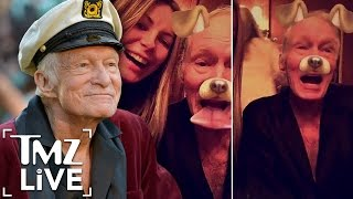 HUGH HEFNER Death Rumors -- Is He Dead or Alive? |  TMZ Live