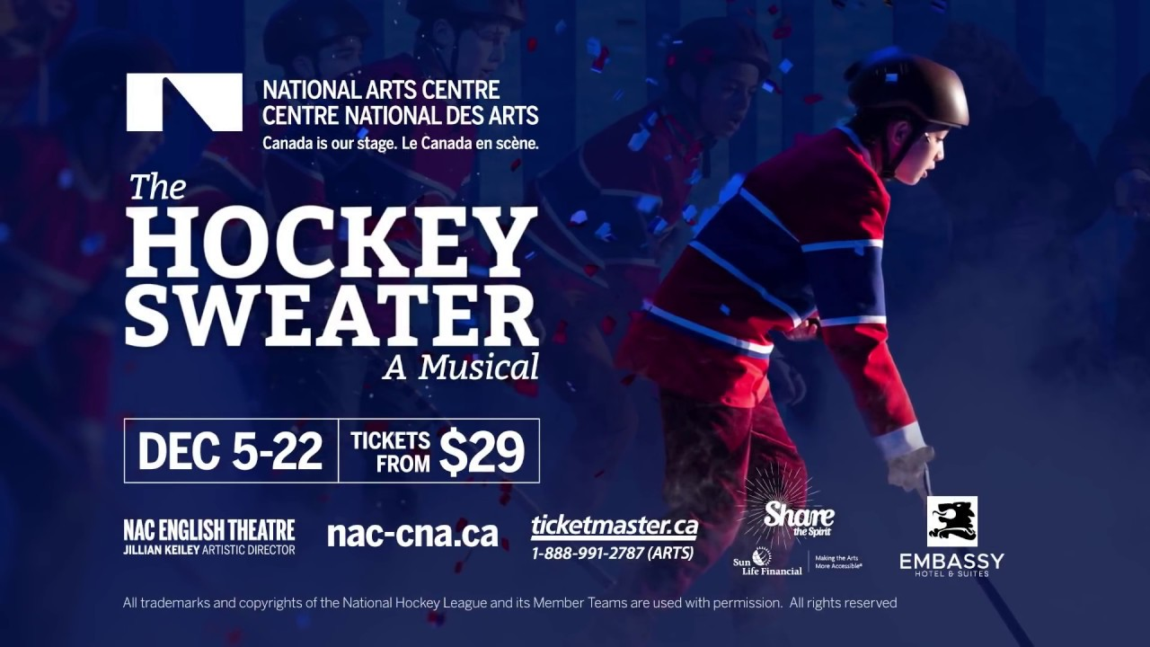 video: The Hockey Sweater: A Musical