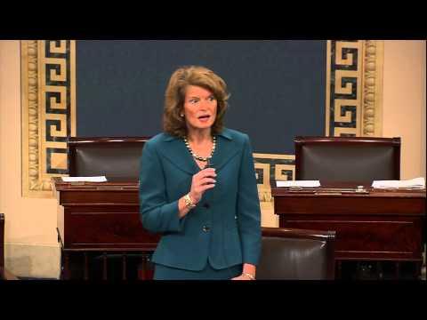 Senate Murkowski Speaks on Bi-partisan Deal to End Government Shutdown