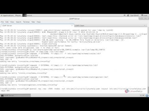 How to configure LDAP Server in RHEL/CentOS