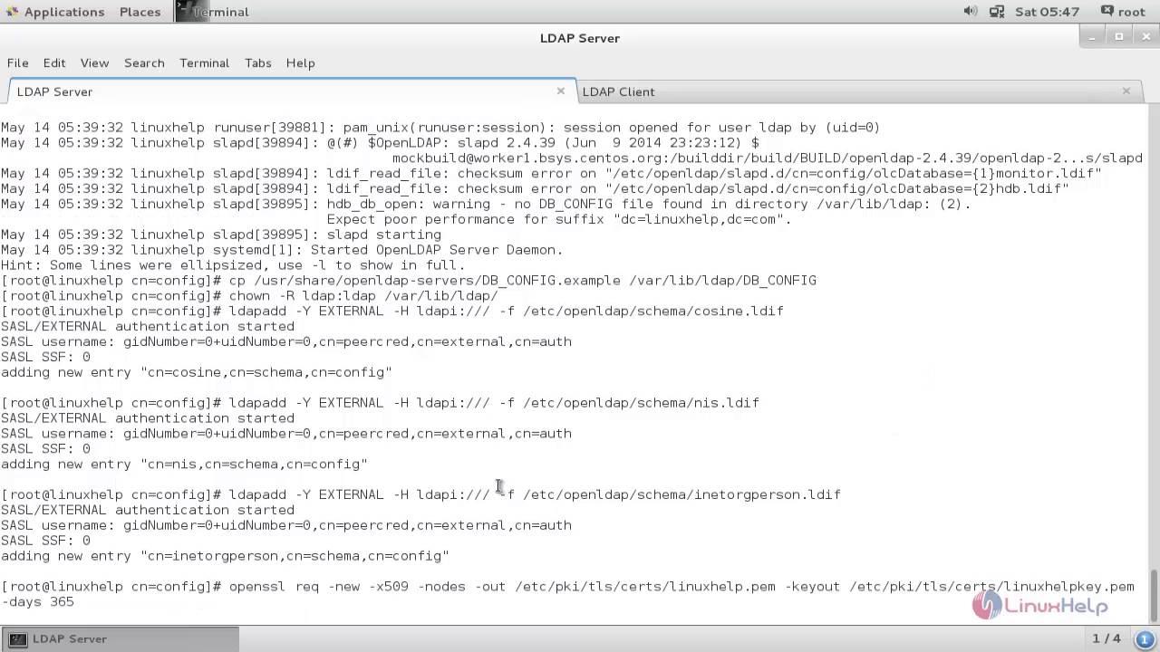 How to configure LDAP Server in RHEL/CentOS | LinuxHelp