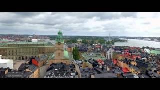 Stockholm Aerial View DJI Phantom 3