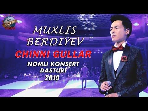 Muxlis Berdiyev chinni gullar nomli konsert dasturi 2019