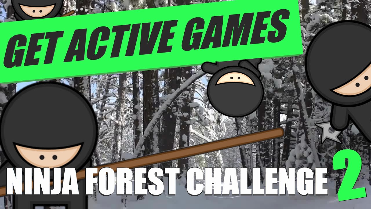 Ninja Forest Challenge 2 - Virtual Martial Arts Workout (Get Active ...