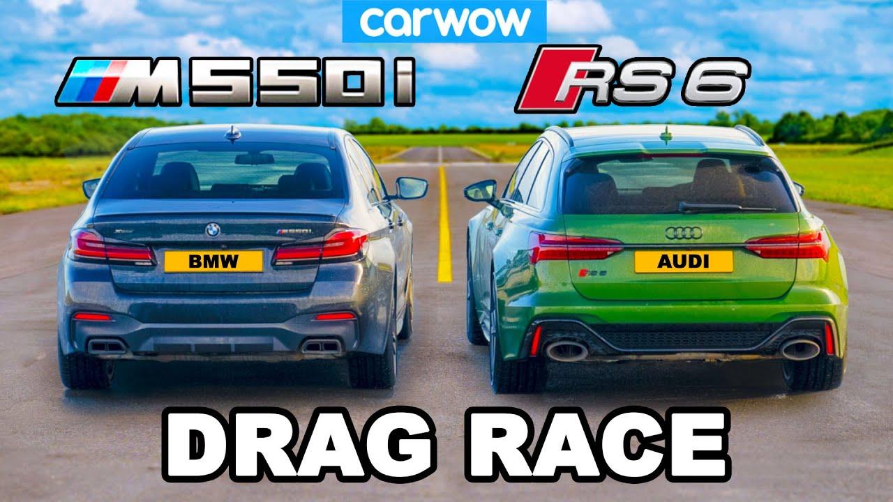 Audi RS6 vs BMW M550i: ARRANCONES