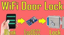 WiFi Home Door Lock| Blynk | iot project # 4