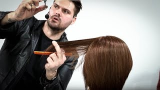 My Favorite Dry Haircutting Techniques on a Bob Haircut - LIVE CLASS
