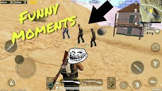PUBG MOBILE Funny Moment + Hacker!!