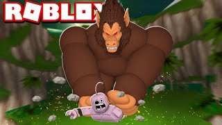 OOZARU MACACO GIGANTE VS MAJIN BOO NO ROBLOX!! (Dragon Ball)