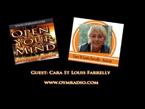 Open Your Mind (OYM) Radio - Cara St Louis Farrelly - Oct 16th 2016