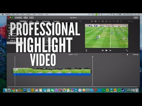 How to Make a SoccerFootball Highlight