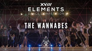 [1st Place] The Wannabes | Elements XVIII 2018 [@VIBRVNCY Front Row 4K]