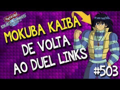 Mokuba Kaiba de volta ao Duel Links! Ganhe cartas exclusivas duelando contra ele no mundo do duelo!