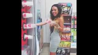 Karrueche Tran funny moments