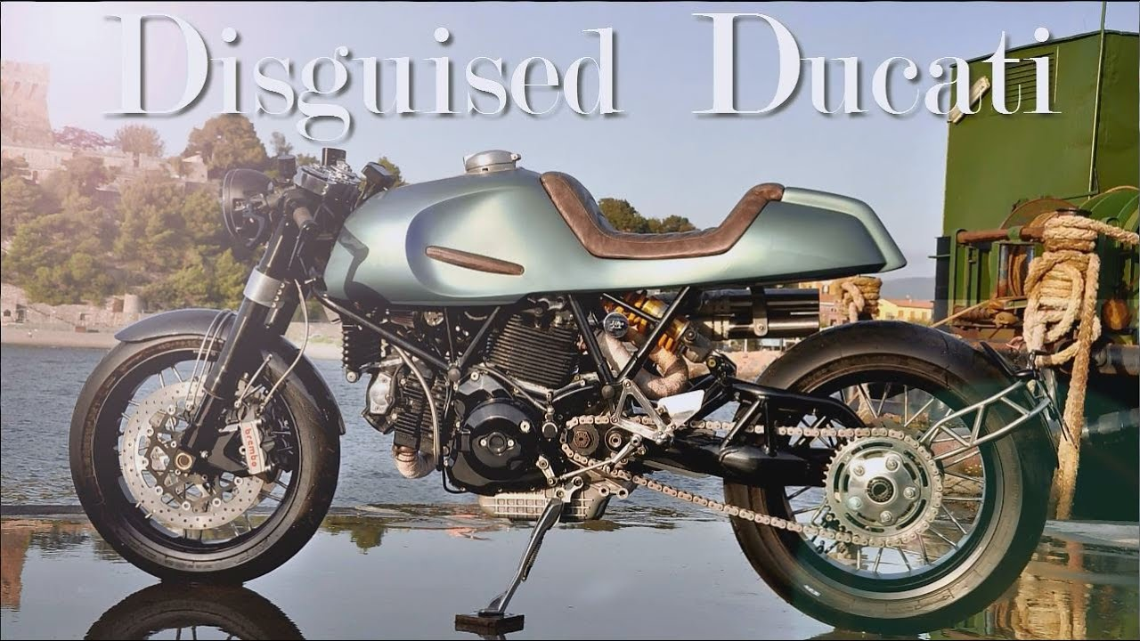 Cafe Racer Ducati Monster By Augh Design Customs Youtube