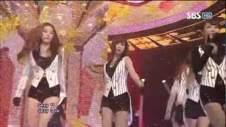 티아라 Sexy Love @SBS Inkigayo 인기가요 20120930