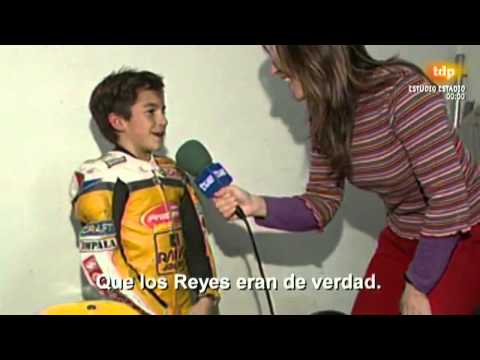 Interview Marc Marquez young 10 years old with ENG SUB