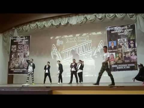 EAGLES GLOBAL BOHOL  BOOTCAMP 2017 DANCE PERFORMANCE
