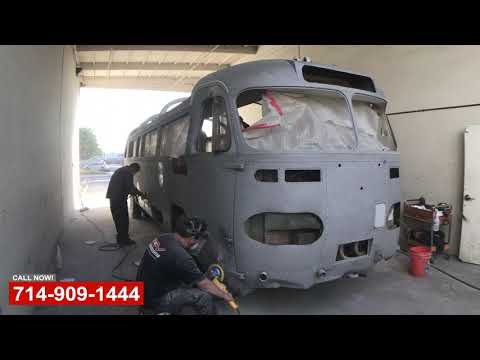 Catalina Tour Bus Restoration