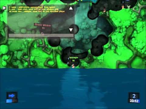 Pojo Plays Worms Revolution Game #1  
