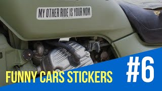 Funny Pictures | Funny Cars Stickers (30 Bumper Stickers) | Yabion | Part 6