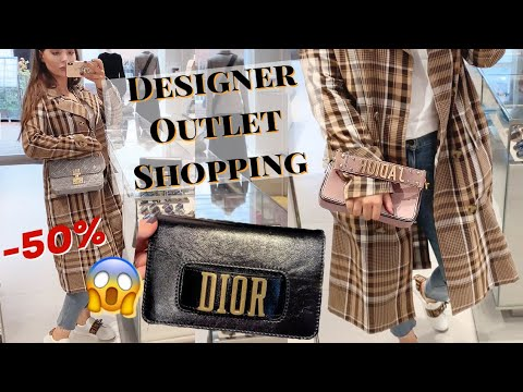 Designer Outlet Shopping Fail 😞 | Bicester Village, Dior, & Other Stories & H&M Haul
