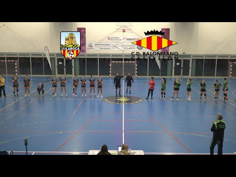 AVANNUBO BM LA ROCA Vs Balonmano Castellón Plata Femenina 22-02-20