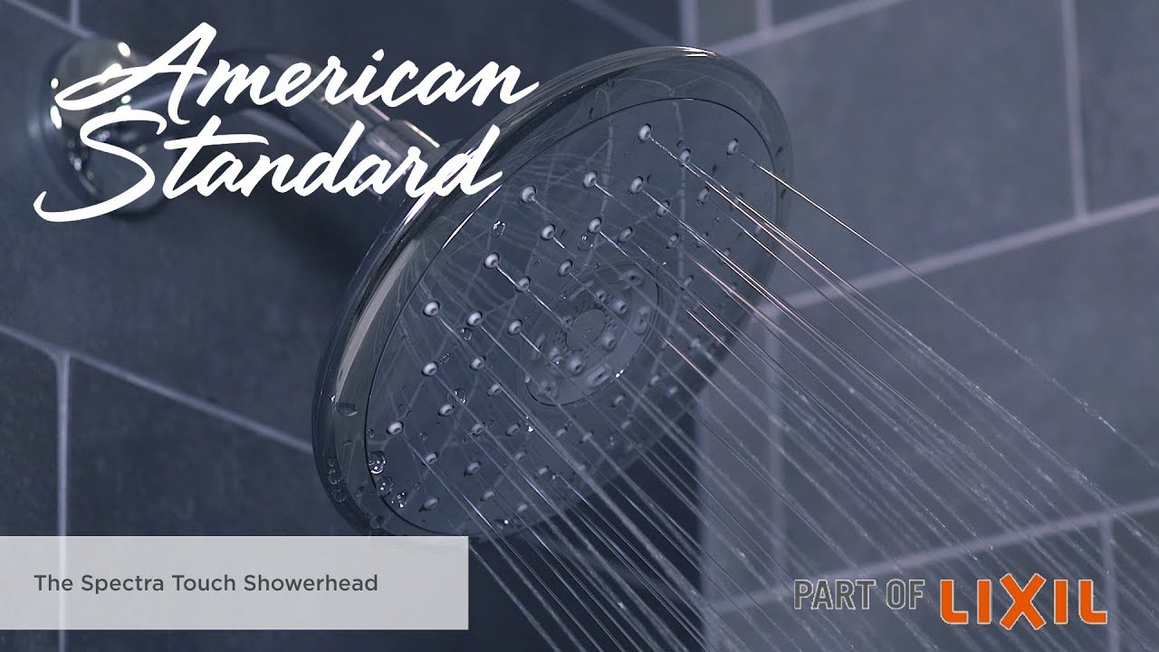 Spectra Touch Shower Head Features and Benefits - YouTube
