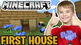 MY FIRST HOUSE in MINECRAFT 1.14 SURVIVAL MODE *NEW UPDATE*
