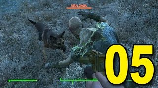 Fallout 4 - Part 5 - Ghoul Attack! (Let