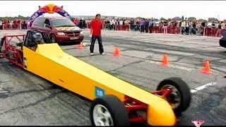 Дрэг Рейсинг гонки на 402 м. \ Люди Икс \ Тренд Видео