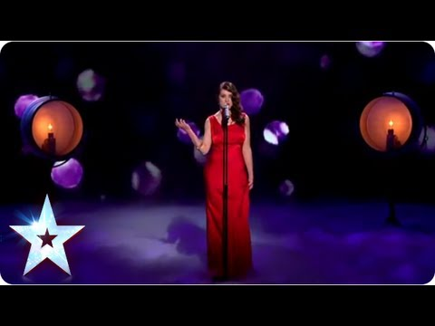 Alice Fredenham singing 'Cry Me A River' | Semi-Final 2 | Britain's Got Talent 2013