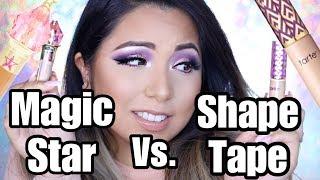 IS MAGIC STAR CONCEALER BETTER THAN SHAPE TAPE? Review & Wear Test | Smashbrush