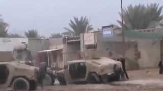 Атака боевиков ИГИЛ на военный конвой.  Ирак.  ИГИЛ.