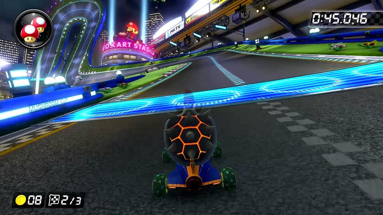 Mario Kart Stadium 150cc 1 38 272 Hd Mario Kart 8 Deluxe