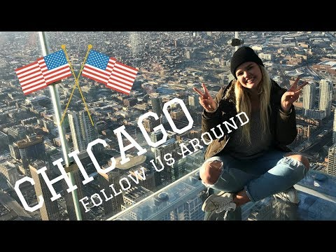 Chicago ✈️ // Follow us Around // Travel Diary