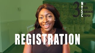 Online Registration | NYSC #3 | Not Your Standard Corper