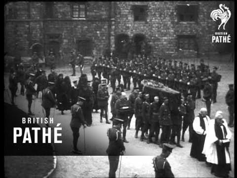 Funeral Of The Late Duchess Of Connaught 1917 (1917)