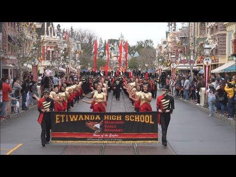 Etiwanda High School Marching Eagle Regiment - Disneyland January 2019