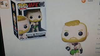 Funko Pop!: Ultimate Fighting Championship - Conor McGregor, Multicolor