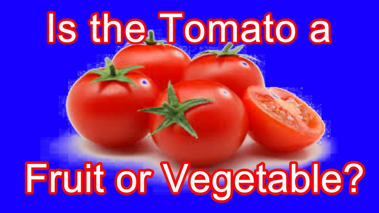 Is the tomato a fruit or vegetable? - YouTube