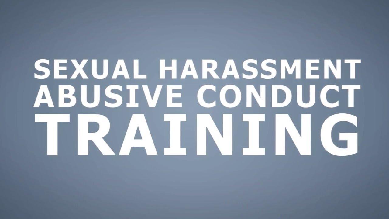 California Sexual Harassment Training