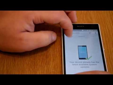 Sony Xperia Z1  Update