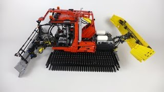 LEGO Technic Snow Groomer - 10 RC Functions!