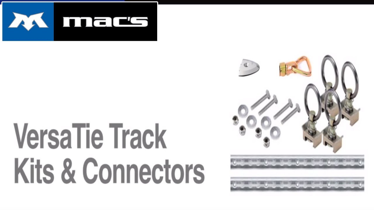 Mac S Versatie Track System Mac S Tie Downs Youtube