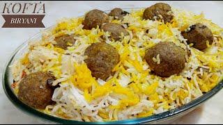 Kofta Biryani Recipe| Easy Recipe| By Cooking With Safina.