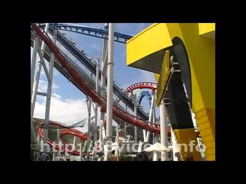 Battlestar Galactica Roller Coaster Human & Cylon at Universal Studios Singapore
