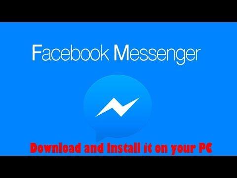 How To Get Facebook Messenger On Your PC 2019 (LAPTOP/DESKTOP)