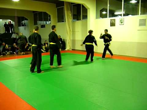 Kenpo karate 1, martial arts club demonstration