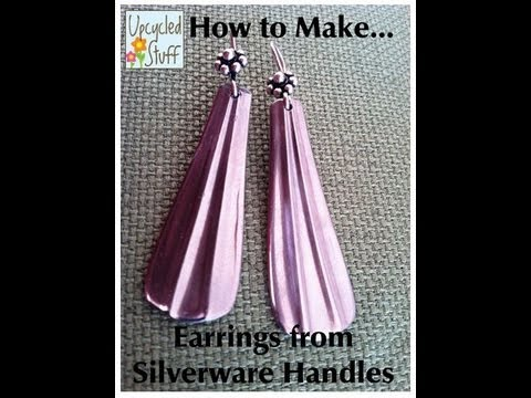 How to Make Spoon Handle Earrings with a Dremel
